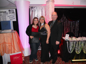 Tracy Frias - One of the $500.00 winners of decor rental and services at the Gatineau 2011 Bridal Show